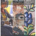 Affiche pour l'expo d'Août 2017 - Atelier Rialto
