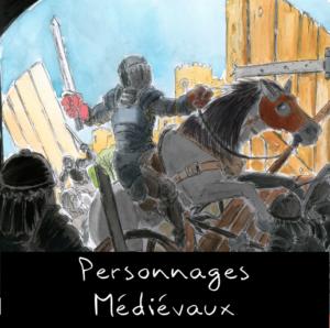 Portfolio de personnages médiévaux