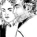 Vica et Sven (deux personnages de carnet).