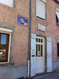 Entrée de l'atelier Rialto, à Saint Léger sur Dheune.