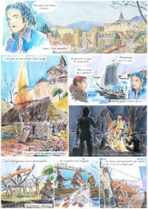 """""""Zoe - Reine des mers"""": Planche de BD - page 16"""