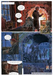 Zoe page19 (planche de BD).