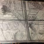 Crayonné de Vol de nuit: détail n°2