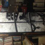 Crayonné de Vol de nuit: encrage détail n°3