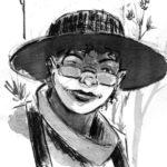 Visage de personnage à l'encre de chine: 8 sur 34