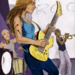 Guitariste dans l'esprit de Guthrie.