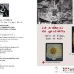 Flyer de l'exposition au Carmel de Chalon sur Saone - 2018