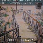 Affiche de l'exposition de Novembre 2019