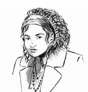 Dessin de Cynthia (personnage).