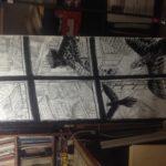 Crayonné de Vol de nuit: encrage détail n°2