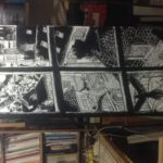 Crayonné de Vol de nuit: encrage détail n°4